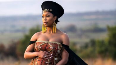 Photo of Minnie Dlamini Explains The Historical Meaning Behind Her Pregnancy Reveal Attire