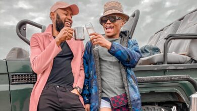 Photo of Pics! Somizi and Mohale Enjoy The Beauty of Wildlife In Their Epic Bush Baecation