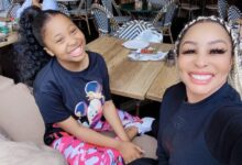 Photo of All Grown! Khanyi Mbau Shares Beautiful Pictures of Her Daughter