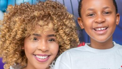 Photo of Brown Mbombo Shares Beautiful Pictures of Her Son's 10th Birthday Celebration