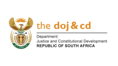 Photo of Applications Open For The Dept of Justice Learnerships / Internships 2020 / 2021