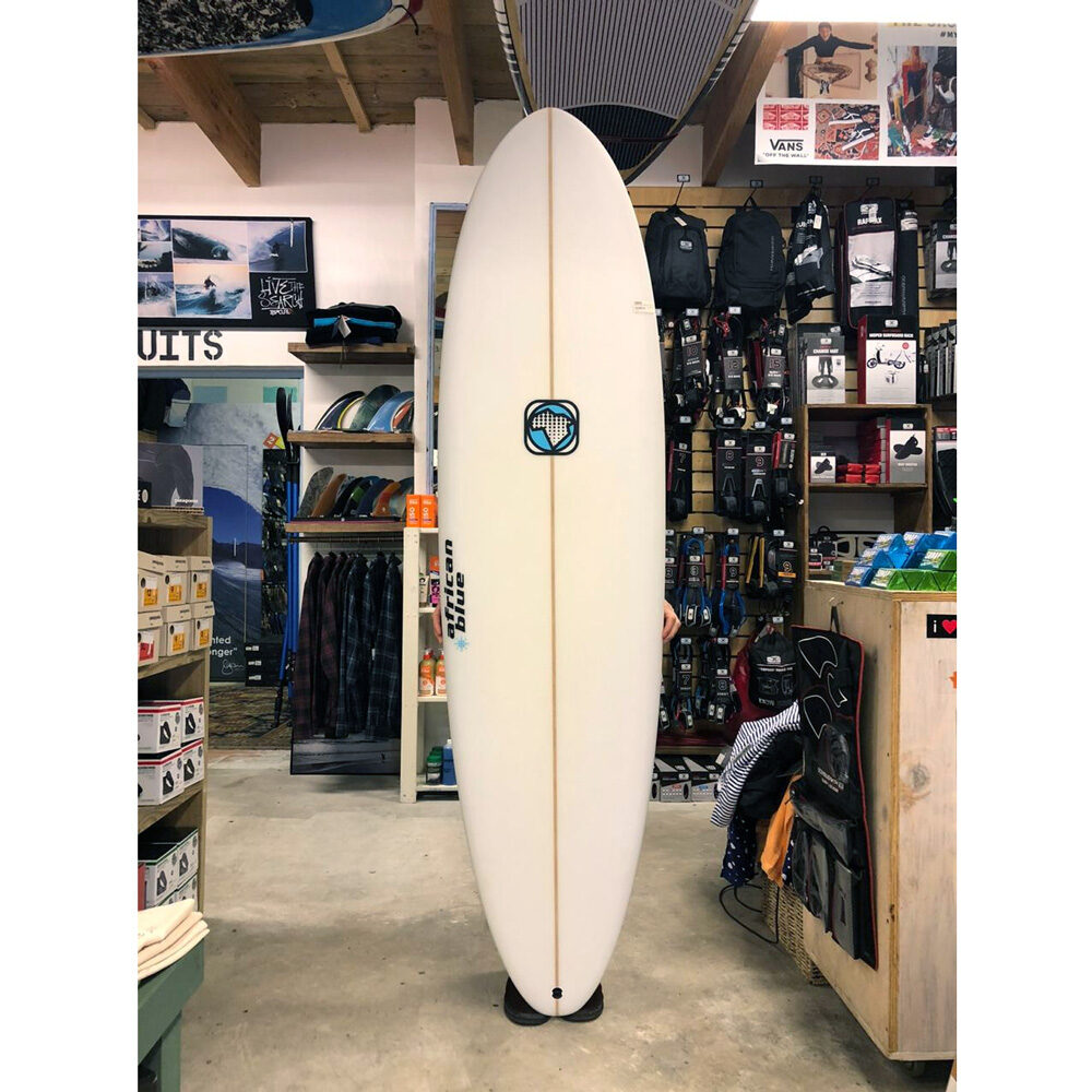 African Blue Surfboard