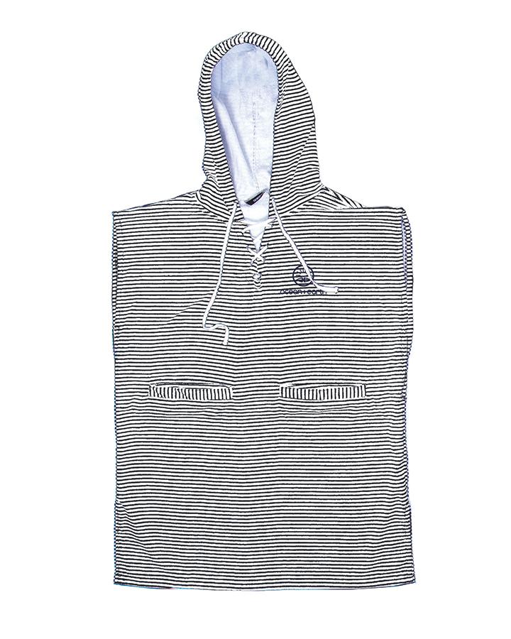 ALTW24 Ladies Navy Striped Front Zip