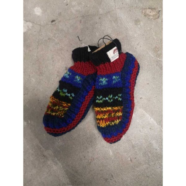 Handknitted Booties from Nepal