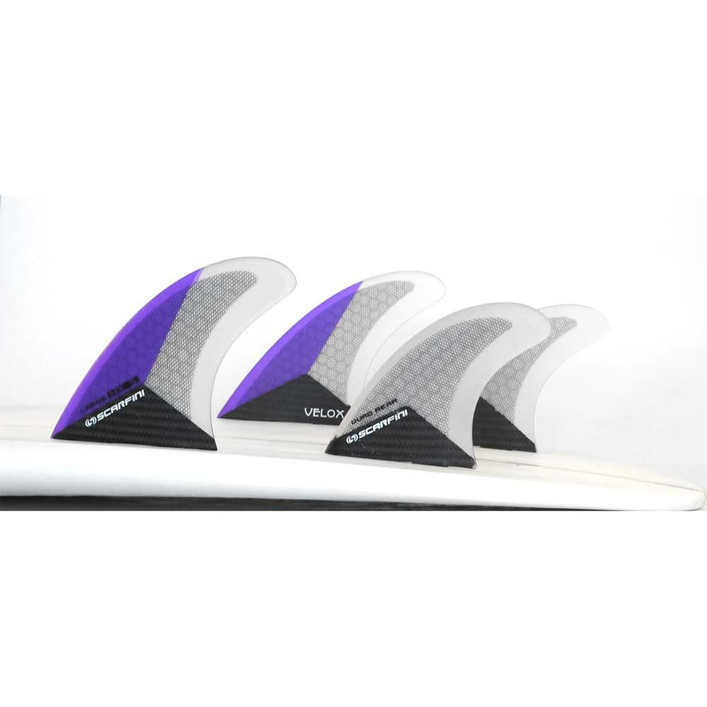 Carbon Quad Fins by Scarfini