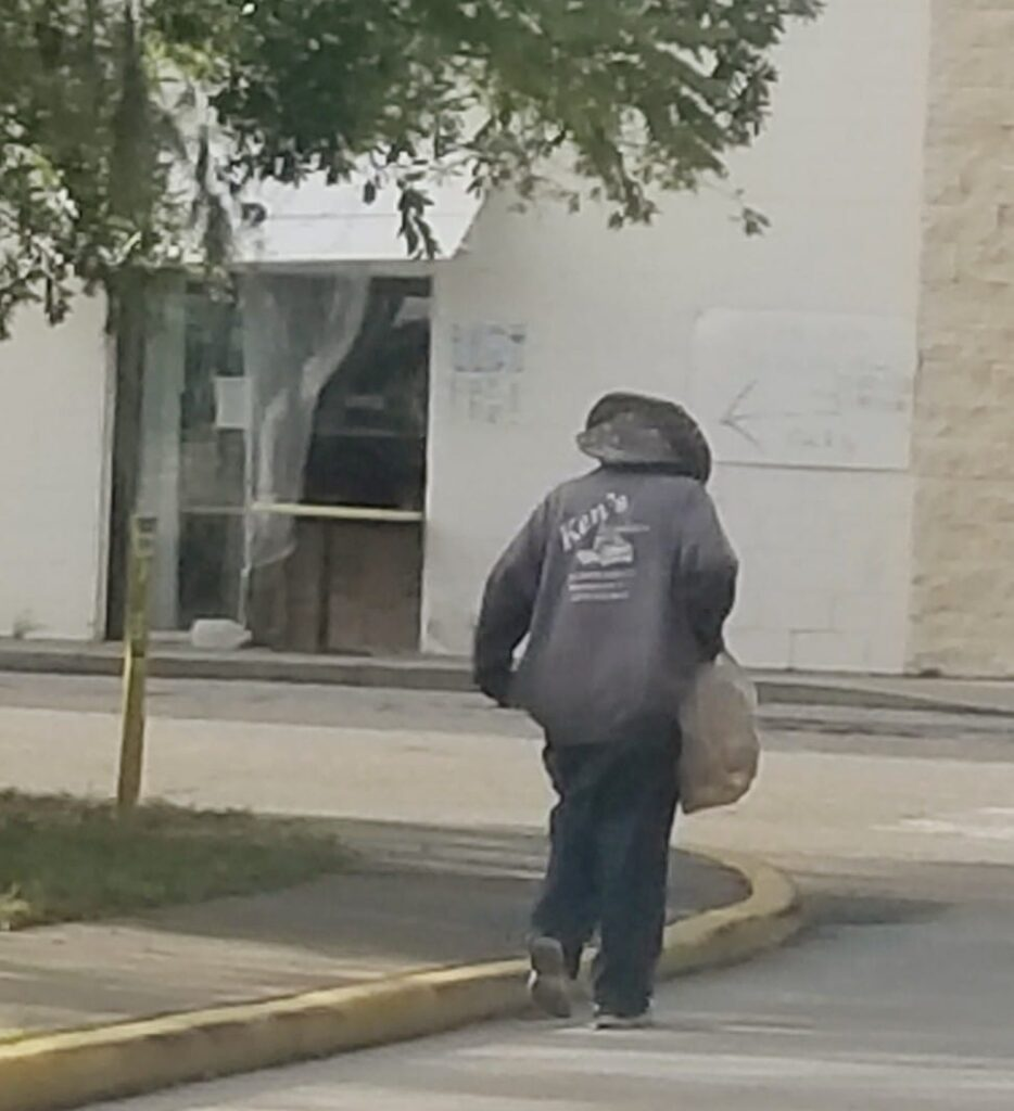 homeless woman Florida