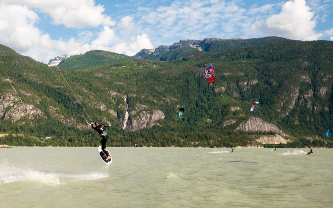 Why Kiteboarding in Squamish is THE BEST!