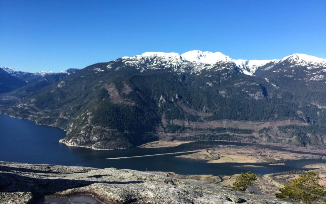 View of the Squamish Spit