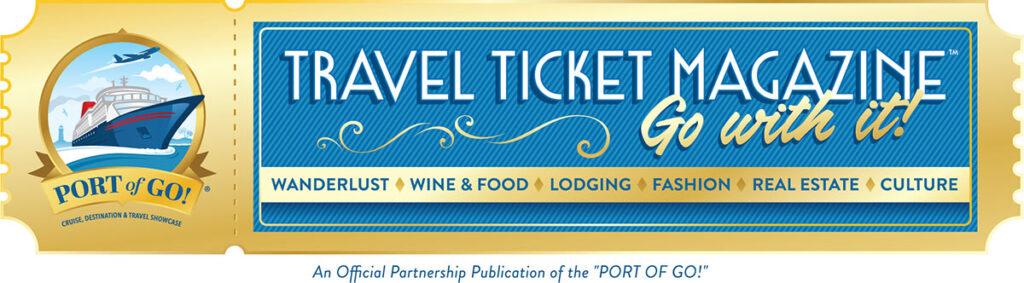Travel Ticket Magazine Social Media Logo