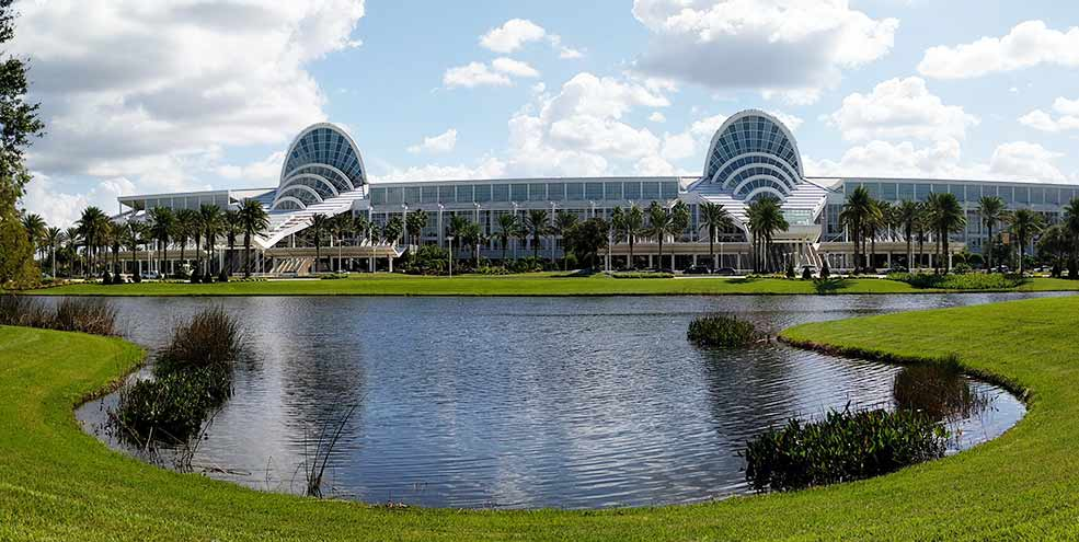 Orange County Convention Center in Orlando, Florida