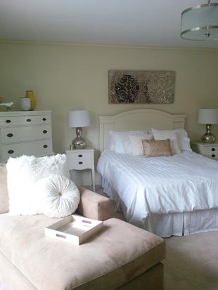 refinished bedroom furniture
