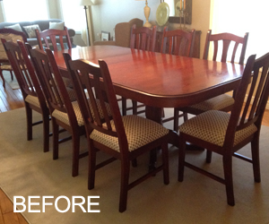 old dining set
