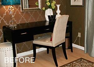 furniture before
