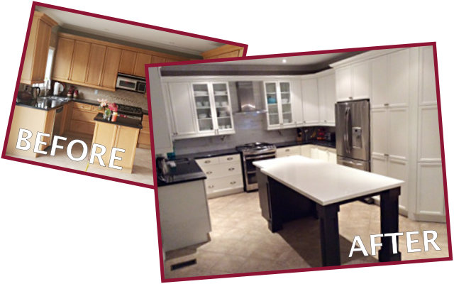 Kitchen Remodeling Before & After