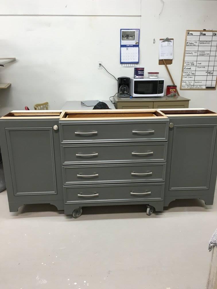 Refinished Dresser - After
