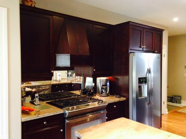 Upscale Open Concept Kitchen - Before
