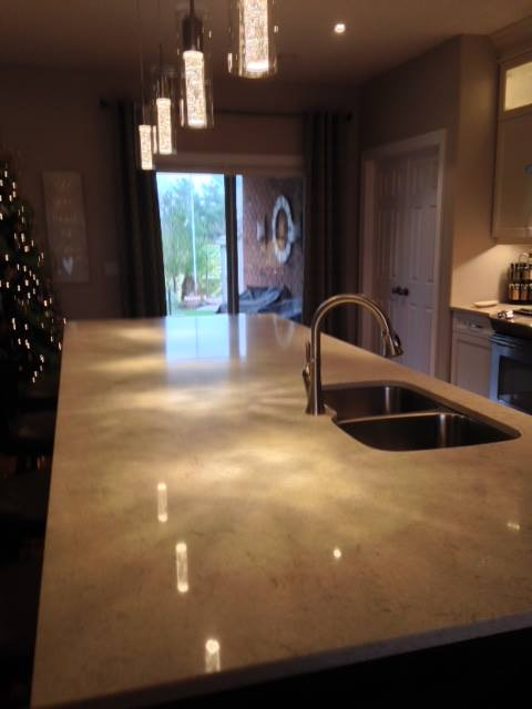 Upscale Open Concept Kitchen - After