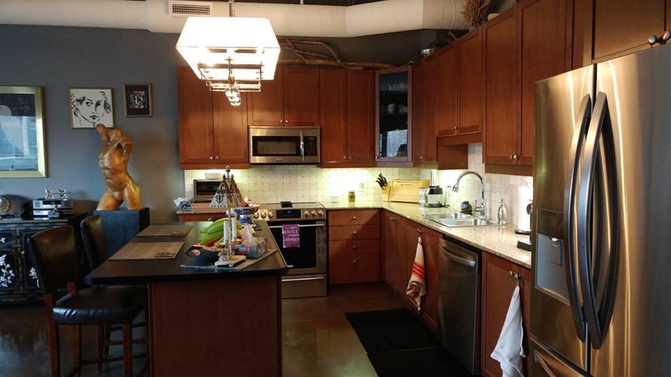 Urban Condo Kitchen - Before