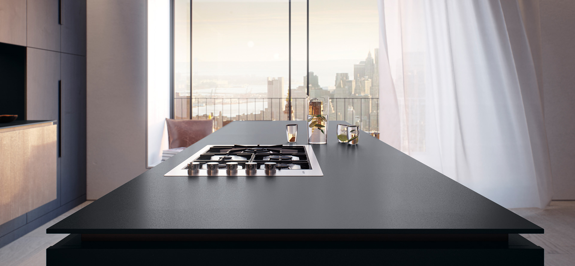 caesarstone piatto black