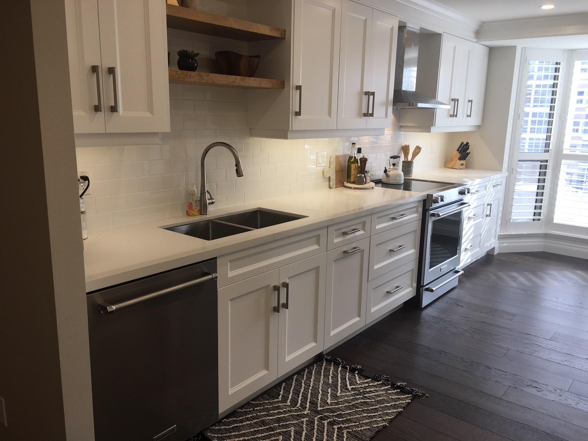 Condo kitchen renovation Hamilton