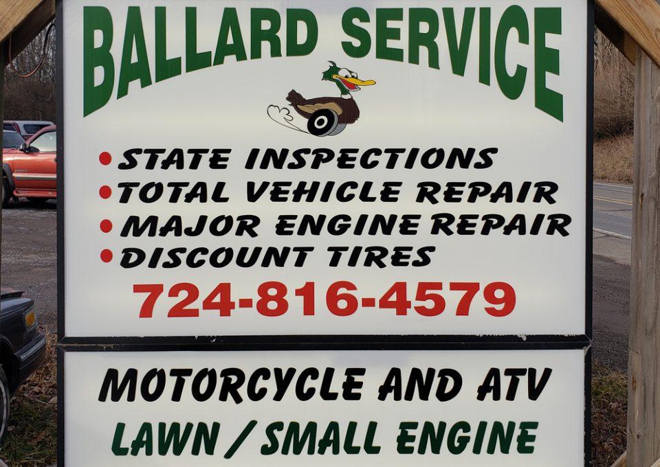 Ballard Service Sign Image