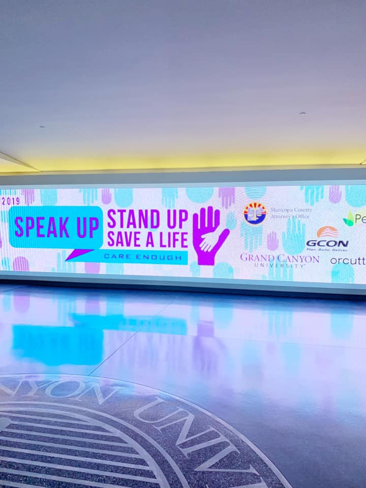 Speak Up Stand Up Save A Life
