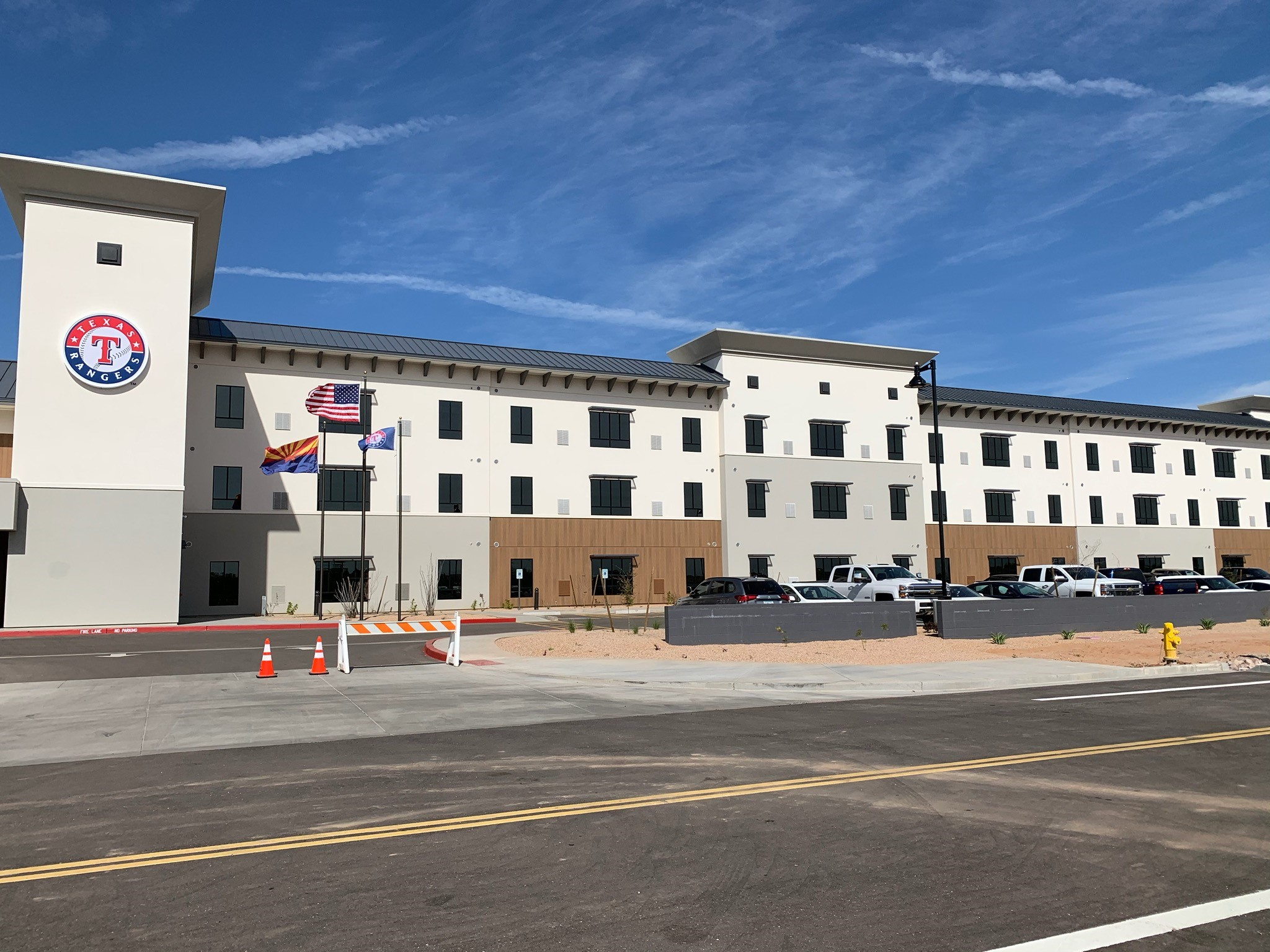 Texas Rangers Housing Facility Completion