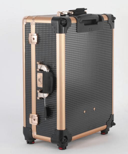 black makeup suitcase