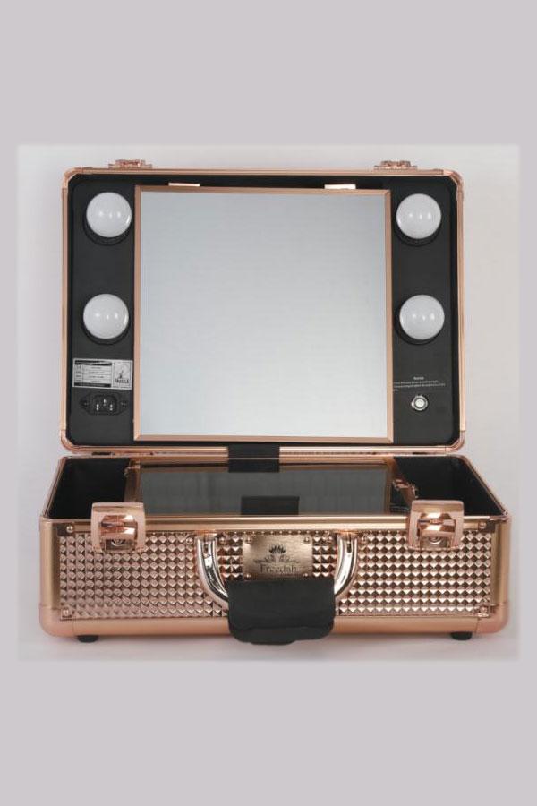 Small Diamond Series LED Vanity Suitcase