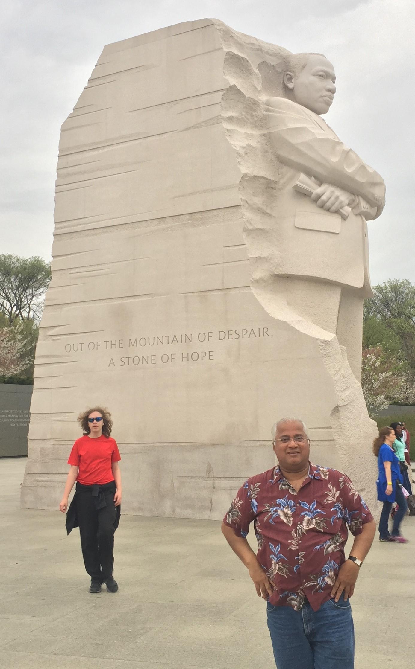 MikeGhouse-MLK-Memorial