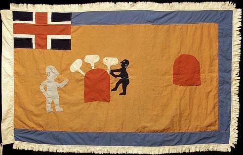 55 Asafo Flag