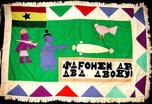 53 Asafo Flag