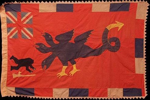 45 Asafo Flag