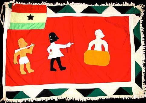 42 Asafo Flag