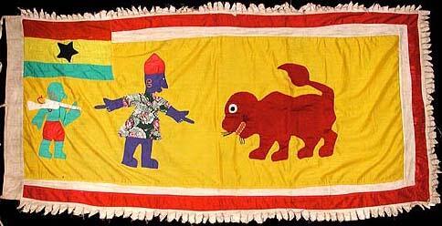 40 Asafo Flag