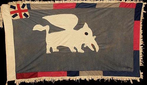 36 Asafo Flag