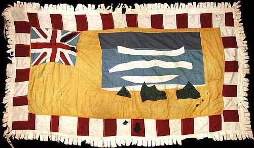34 Asafo Flag