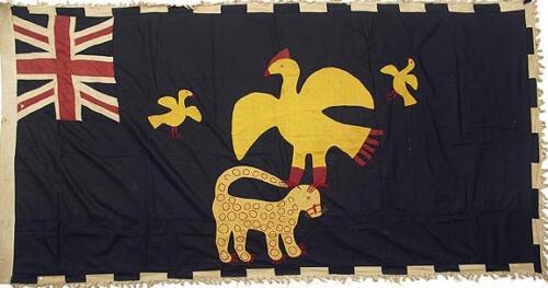 25 Asafo Flag