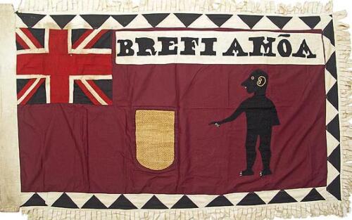 19 Asafo Flag
