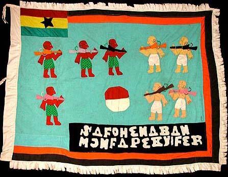 18 Asafo Flag