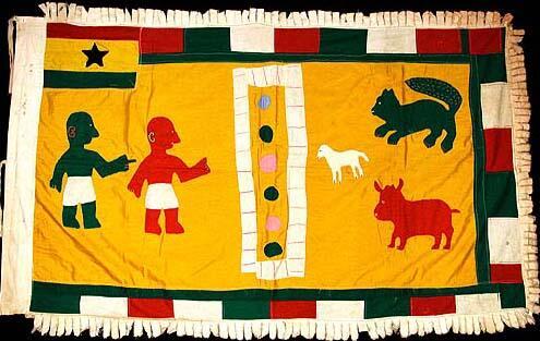 17 Asafo Flag