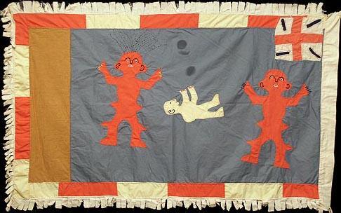 16 Asafo Flag