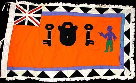 10 Asafo Flag