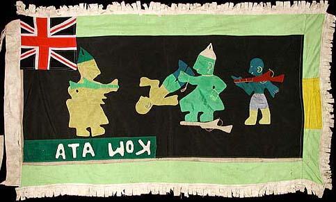 7 Asafo Flag