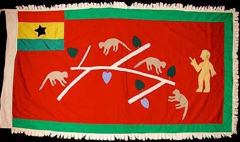 5 Asafo Flag
