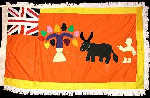 3 Asafo Flag