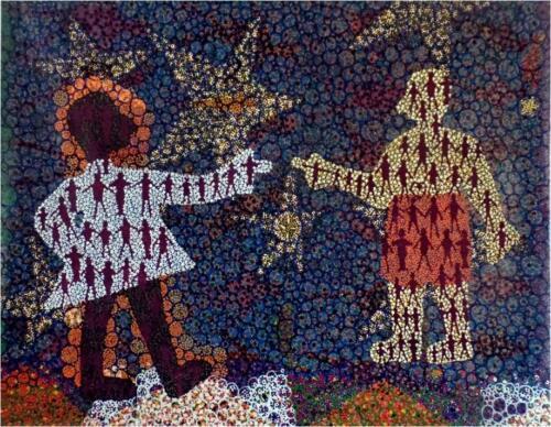 """Ancestors of Ancient Places"", Asafo Flag Series"