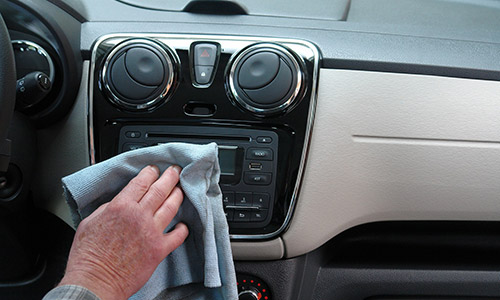 Auto detailing dashboard