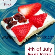 4th of July Fruit Pizza w/Creamy Cheese Frosting Recipe