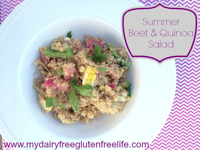 Summer Beet and Quinoa Salad Recipe